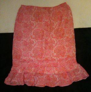 NWOT Paisley Skirt